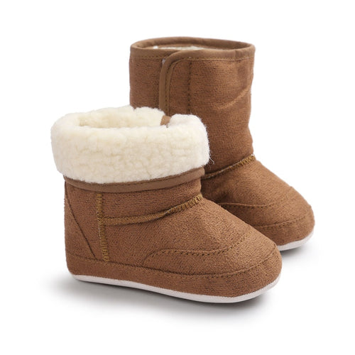 New Winter Super Warm Baby Girls First Walkers Shoes