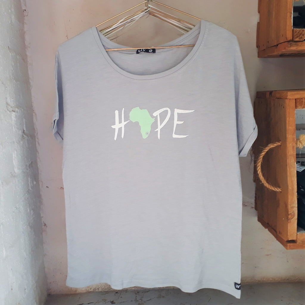 Big Girls Hope Batwing Tee - LIV Creative
