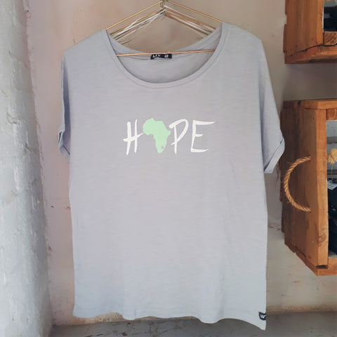 Womens Hope Batwing Tee