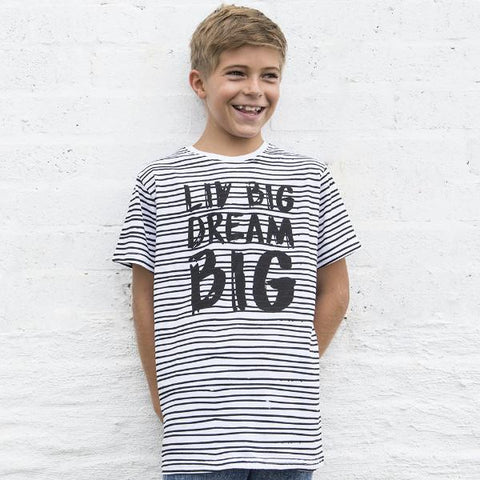 Big Boys LIV Big Dream Big Crew Neck Tee