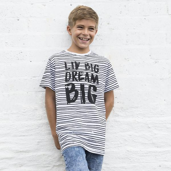 Big Boys LIV Big Dream Big Crew Neck Tee - LIV Creative