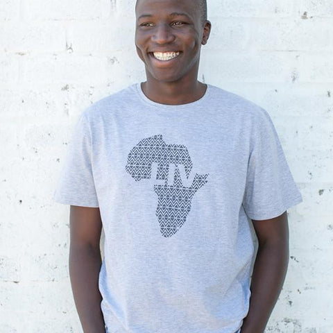 Mens LIV Africa Crew Neck Tea - LIV Creative