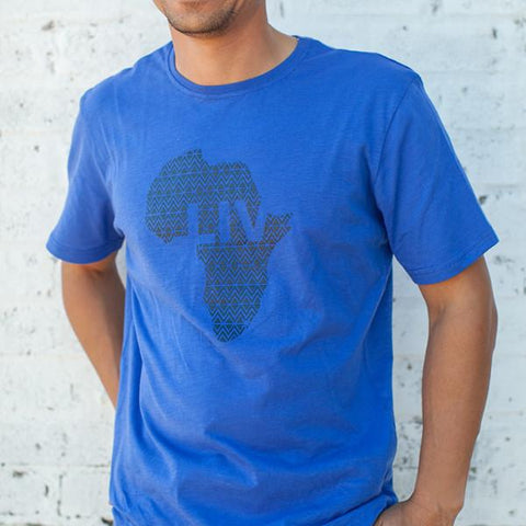 S/S Crew Neck Tee, New Blue, 100% Cotton Slub