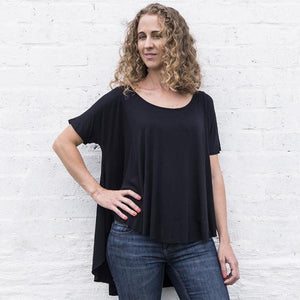 Womens Volume Back Tee - LIV Creative