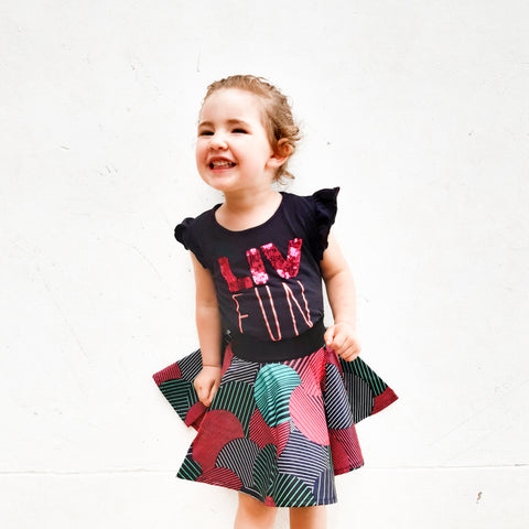 Girls South African Skirts - LIV Creative