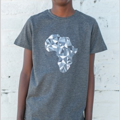 Big Boys Geo Africa Crew Neck Tee - LIV Creative