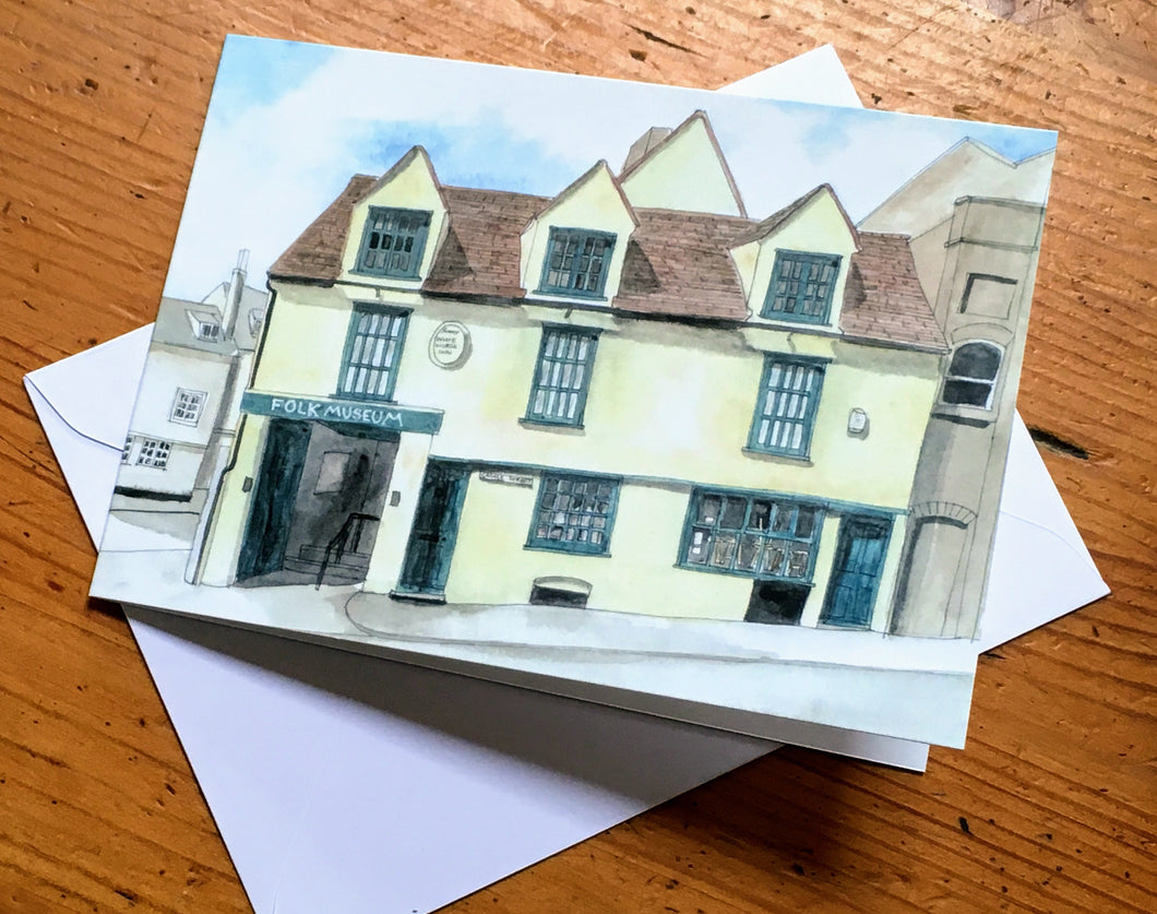 Greetings Card - Folk Museum