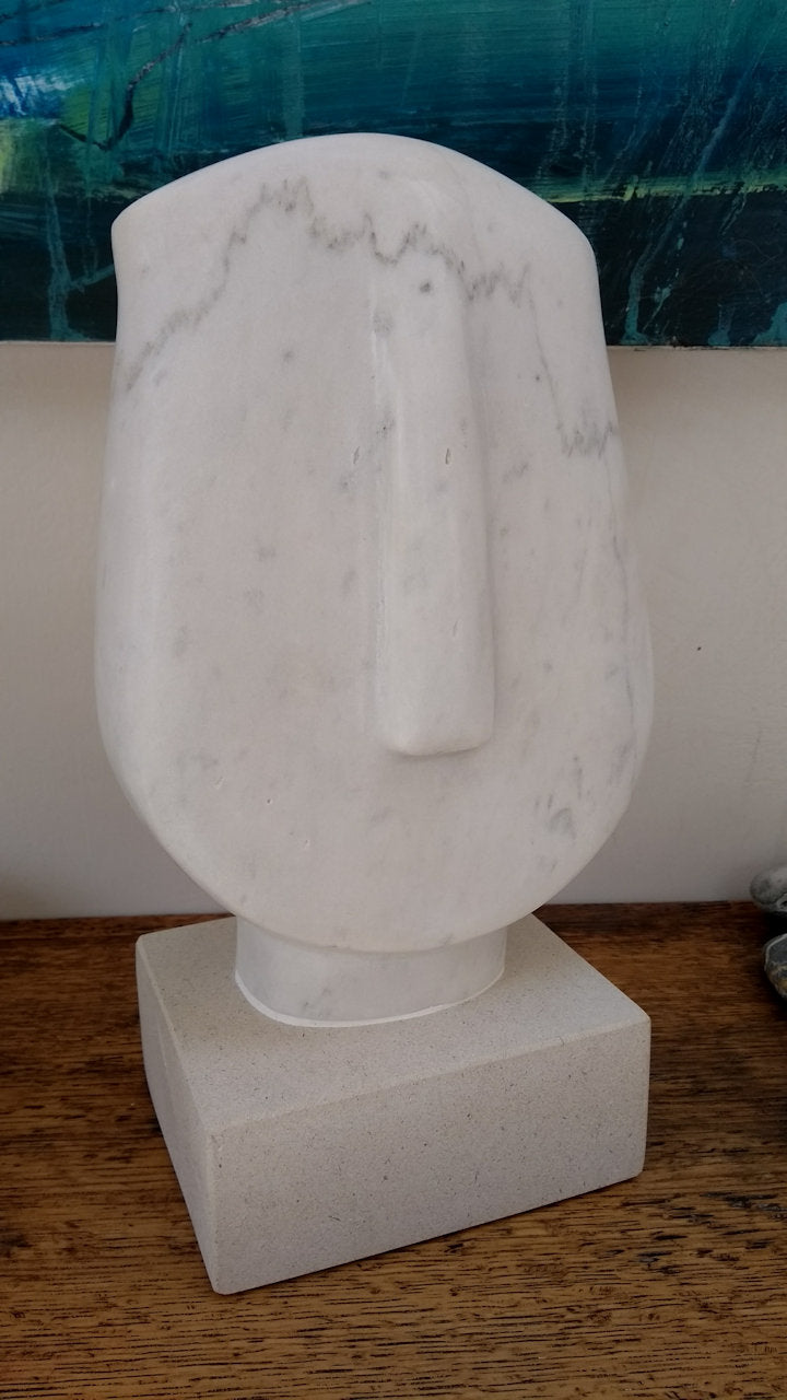 Small White Cycladic Head