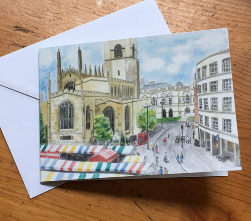 Greetings Card - Market Square