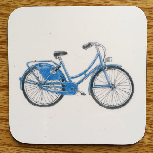 Coaster - Blue Bicycle