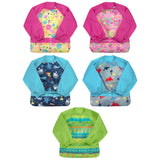 Green Sprouts Snap & Go Easy-wear Long Sleeve Bib