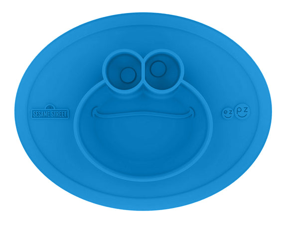 EZPZ Cookie Monster Suction Plate Ltd Ed