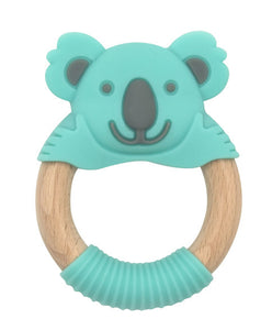 Bibi Baby Kenny Koala - mint & grey