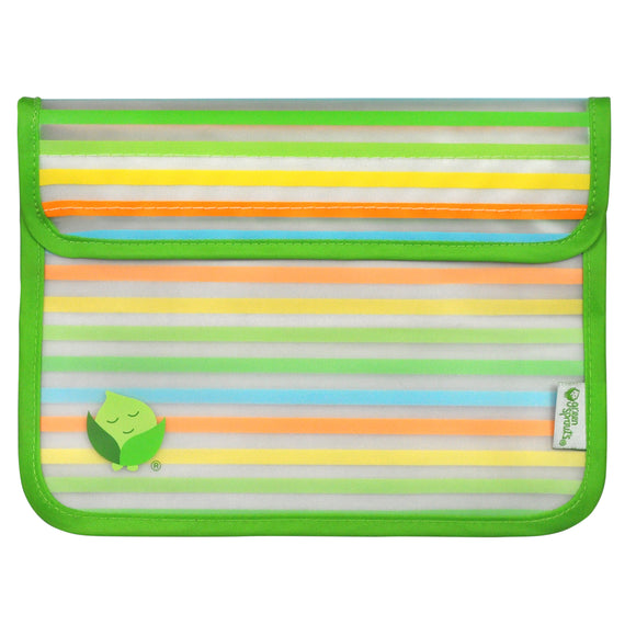 Green Sprouts Reusable Snack Bag (2pk)-Green Set-6mo+