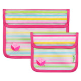 Green Sprouts Reusable Snack Bag (2pk)-Pink Set-6mo+