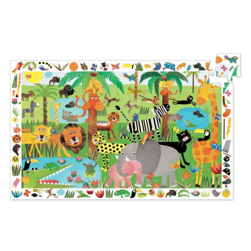 Djeco The Farm 35pc Observation Puzzle