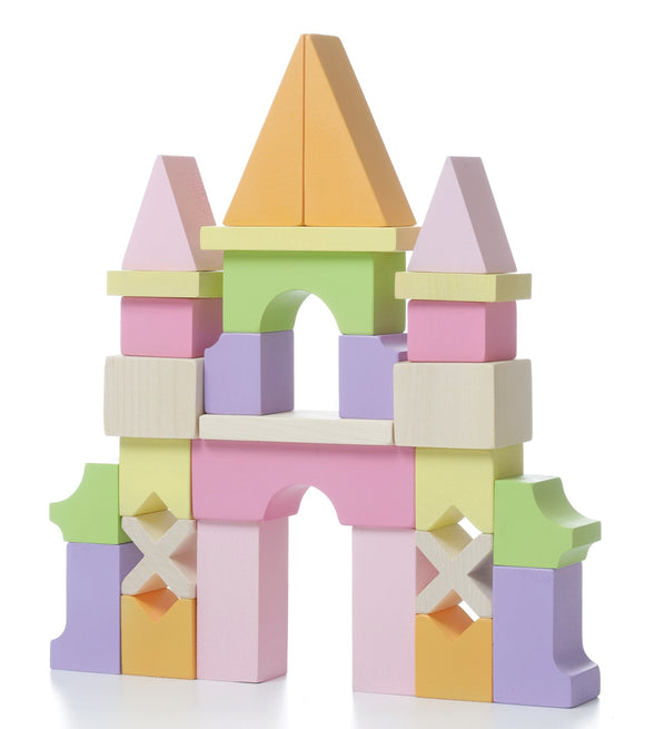 Cubika Wooden Block Castle LZ-1