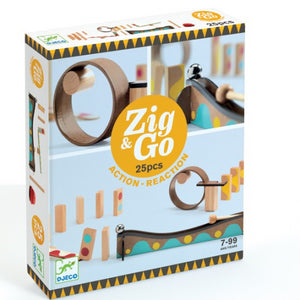 Djeco Zig & Go 25pc set