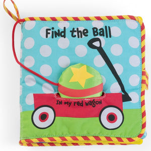 Manhattan Toy Co Find The Ball Fabric Book