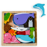 Kiddie Connect Sea Creatures Chunky Puzzle