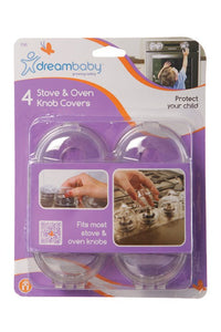 Dream Baby Stove & Oven Knob Covers - 4 pack