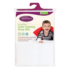 ClevaMama Tencel® Toilet Training Sleep Mat 70 x 90 cm - White