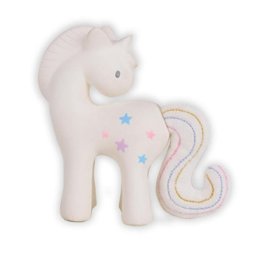Tikiri Cotton Candy Unicorn Teether Gift Box - Sustainable