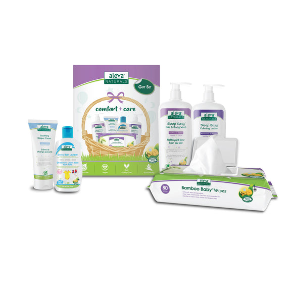 Aleva Naturals Newborn Comfort + Care Gift Set