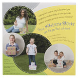 All4Ella Milestone Blocks White