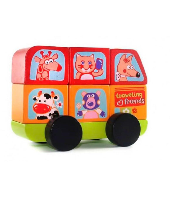 Cubika Mini-bus Funny Animals LM-10