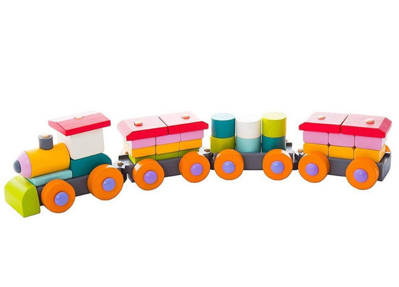 Cubika Wooden Train