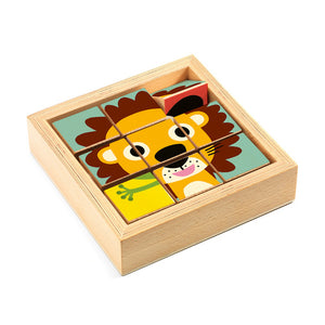 Djeco Touranimo Wooden Puzzle Game