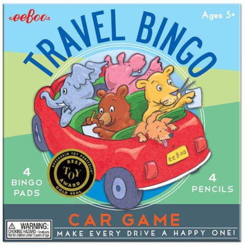 EeBoo Travel Bingo - car game