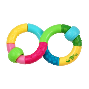 Green Sprouts Infinity Rattle-Multicolor-3mo+