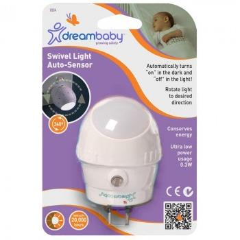 Dreambaby Swivel Auto Sensor Nightlight