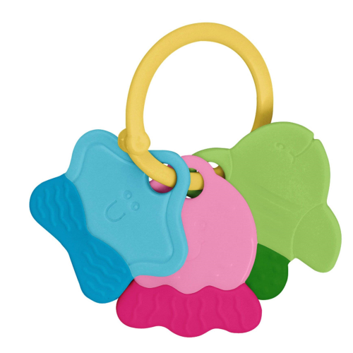 Green Sprouts Teething Keys Multicolour 3mo+