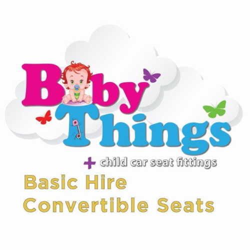 Basic Hire - Convertible Car Seat  (incl. deposit & fitting)