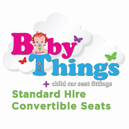 Standard Hire - Convertible Car Seat  (incl. deposit & fitting)