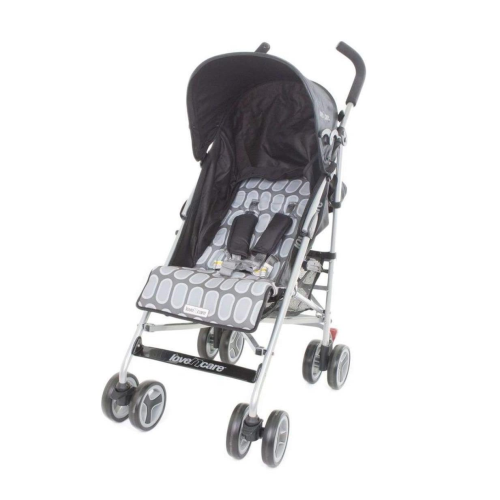 Love n Care Push & Go Stroller - Black Rock