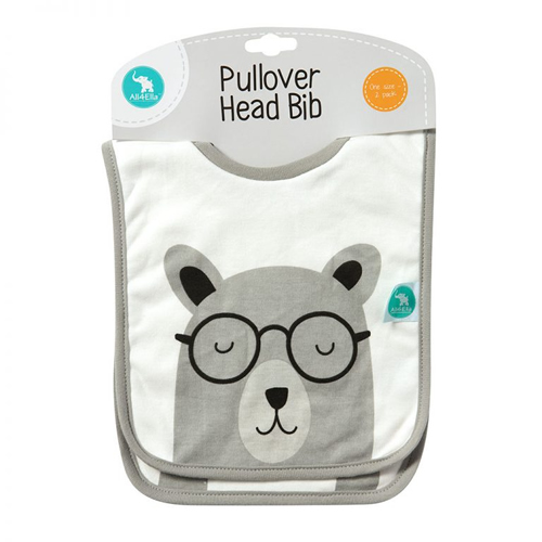 All4Ella Pullover Head Bibs