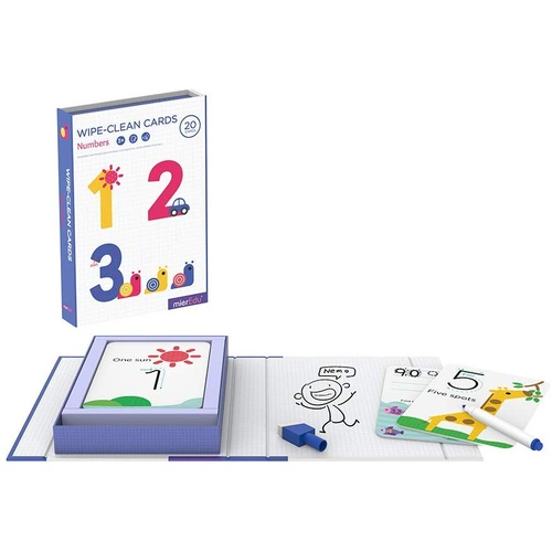 Mieredu Wipe-Clean Activity Set - Numbers