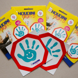 Houdini High 5 Sticker Twin Pack - Aqua
