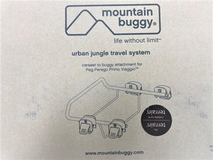 Mountain Buggy Urban Jungle Travel System adapter for Peg Perego capsule