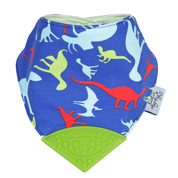 Kiss Kiss Hug Hug teething bib