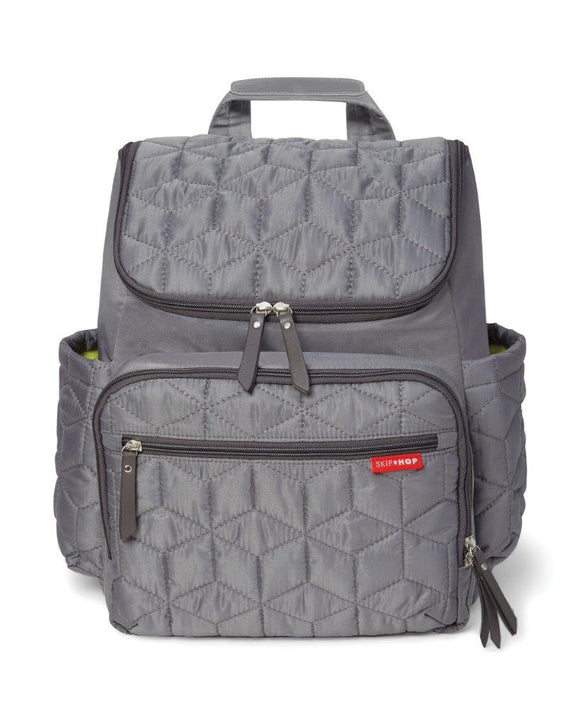 Skip Hop Forma Backpack - 4 piece set nappy bag - Grey