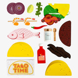 Make Me Iconic Wooden Toy Taco Kit