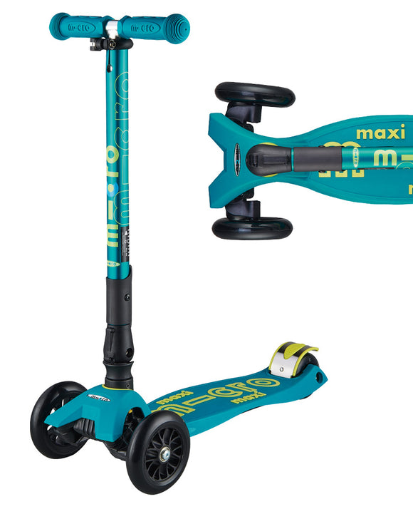 Micro Maxi Deluxe Foldable T-Bar Scooter