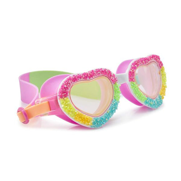 Bling2o Girls Goggles /Pop Rocks/ Banana Split Heart