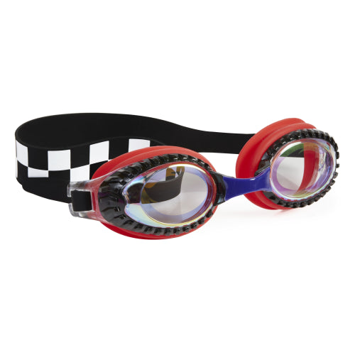 Bling2o Boys Goggles / Drag Race / Chevy Red Checkerboard