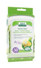 Aleva Naturals Bamboo Baby Nose 'n' Blows Wipes - 30ct